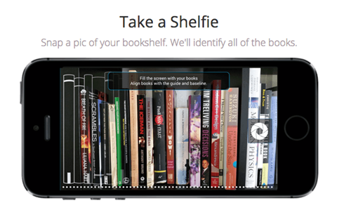 "Captura tus libros con ""Shelfie"""