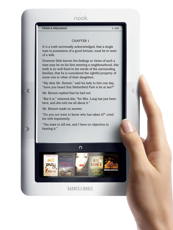 Nook ya no interesa a Barnes & Noble
